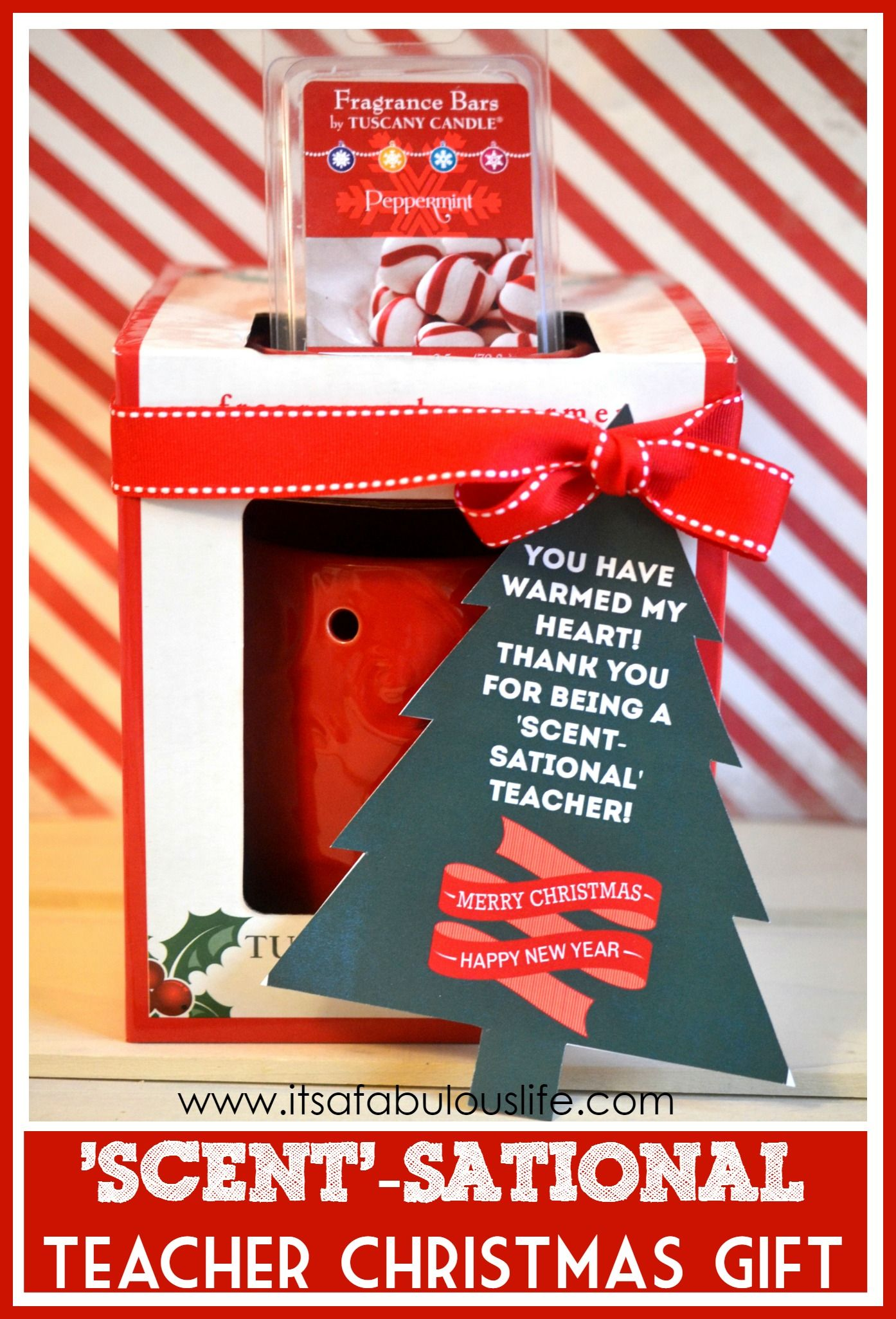 Awesome Christmas Teachers Gifts Part - 14: Easy Teacher Christmas Gift Idea: You Warm My Heart! Thank You For Being A
