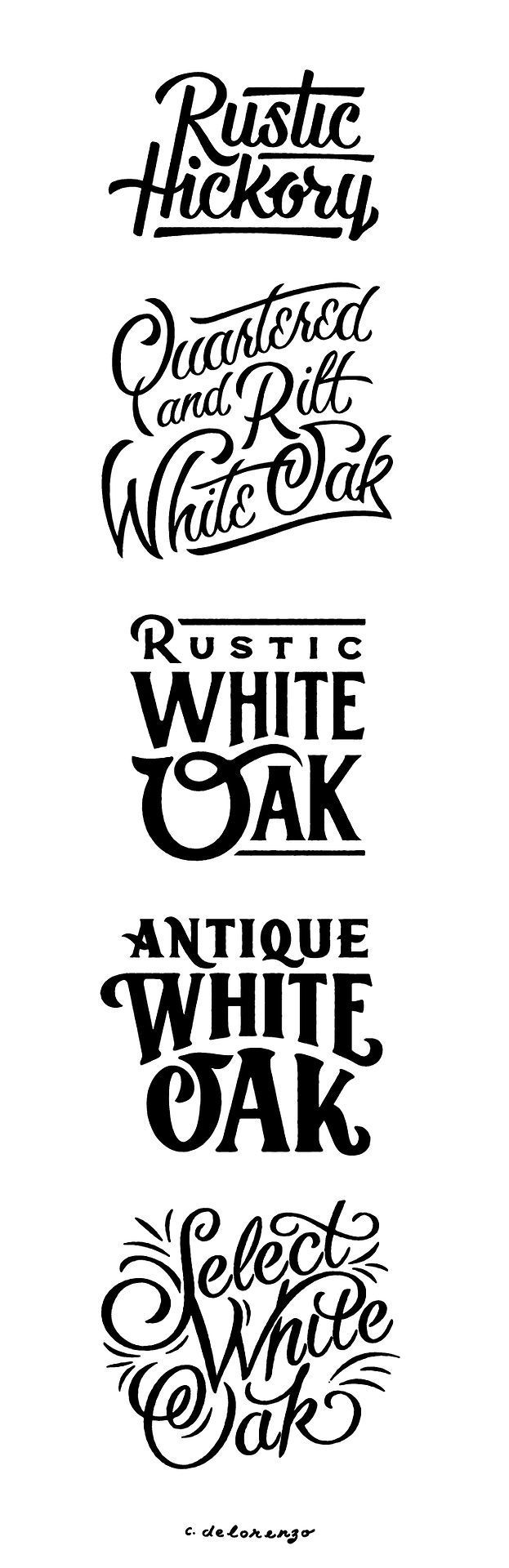 50 inspiring examples of hand lettering rustic hickory antique white hand lettering design