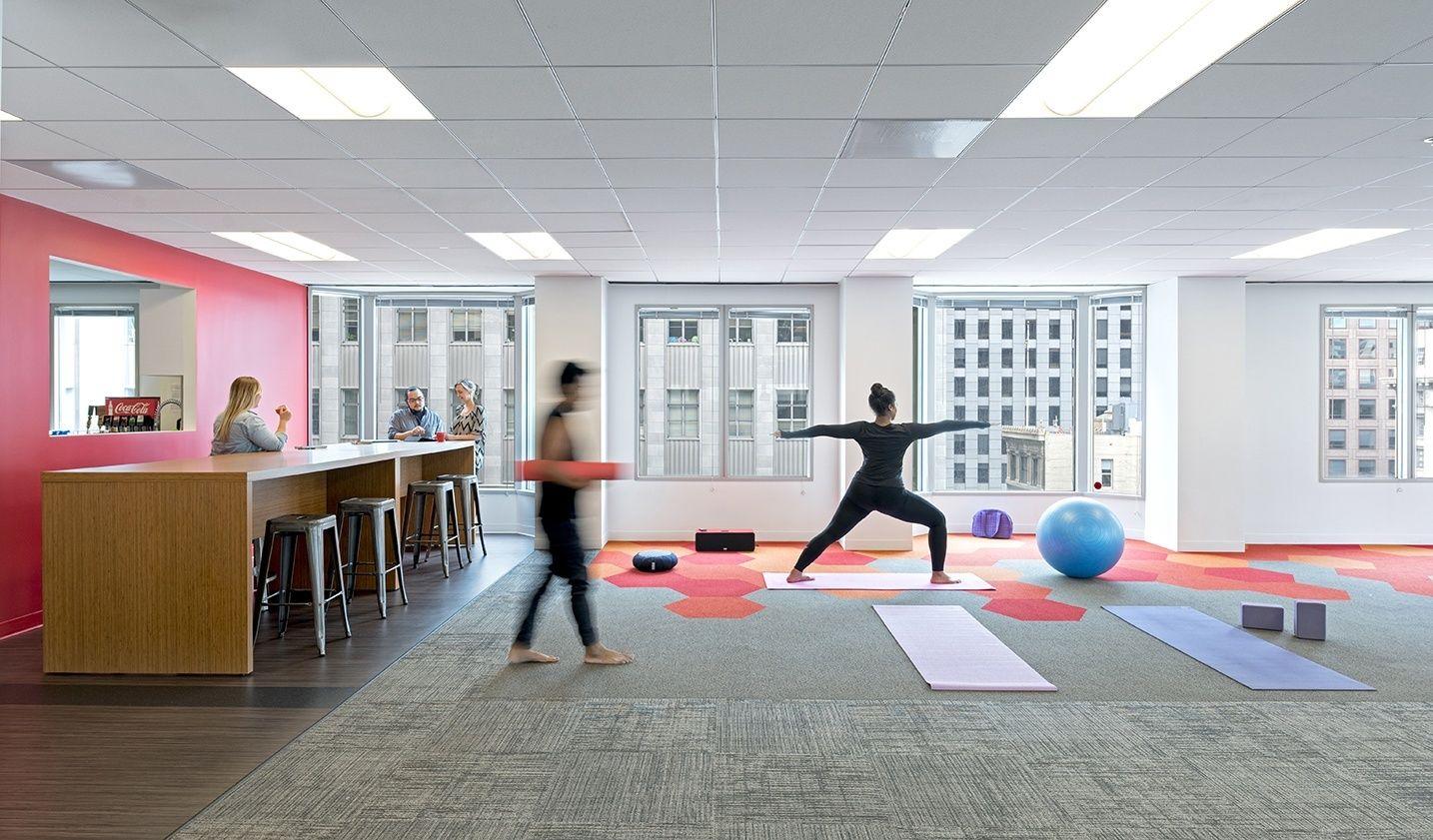 A Peek Inside Brightroll S Hip San Francisco Office Workplace Design Design Office Wellness