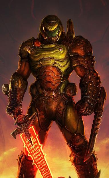 Mm M L Rpg Style Doomguy 2016 Version By Master Rainbow Deviantart Com On Deviantart Doom Demons Doom 2016 Doom