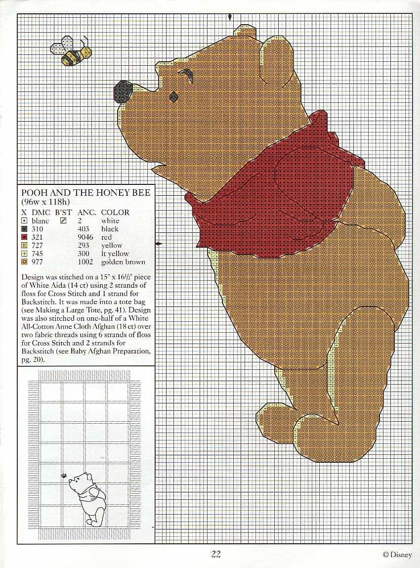 schema-punto-croce-pooh31.jpg (850×1149)