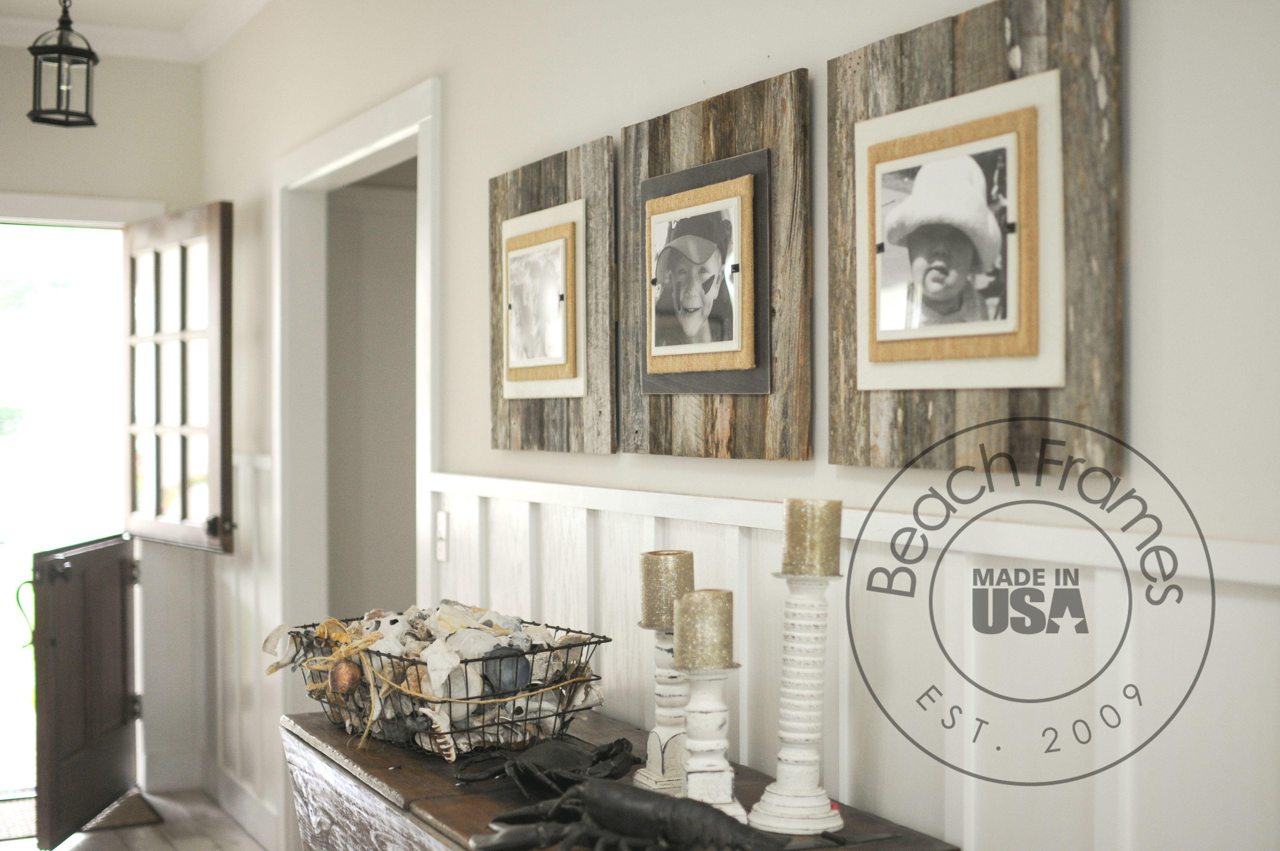 25% off limited time saleon extra large reclaimed wood frames. Enter ...