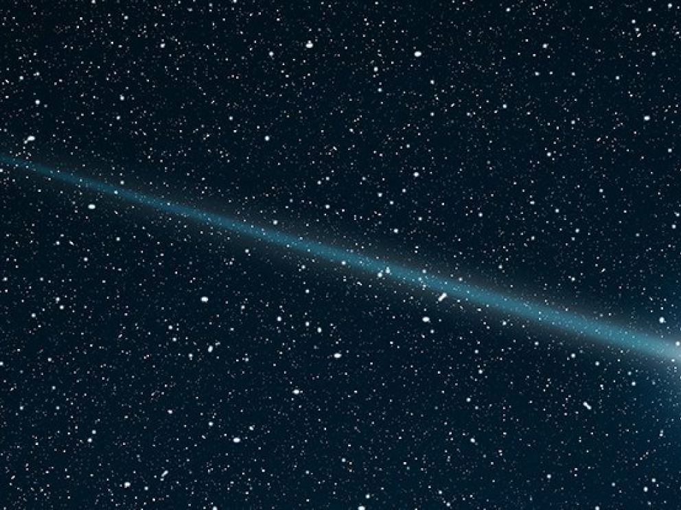comets visitors from deep space