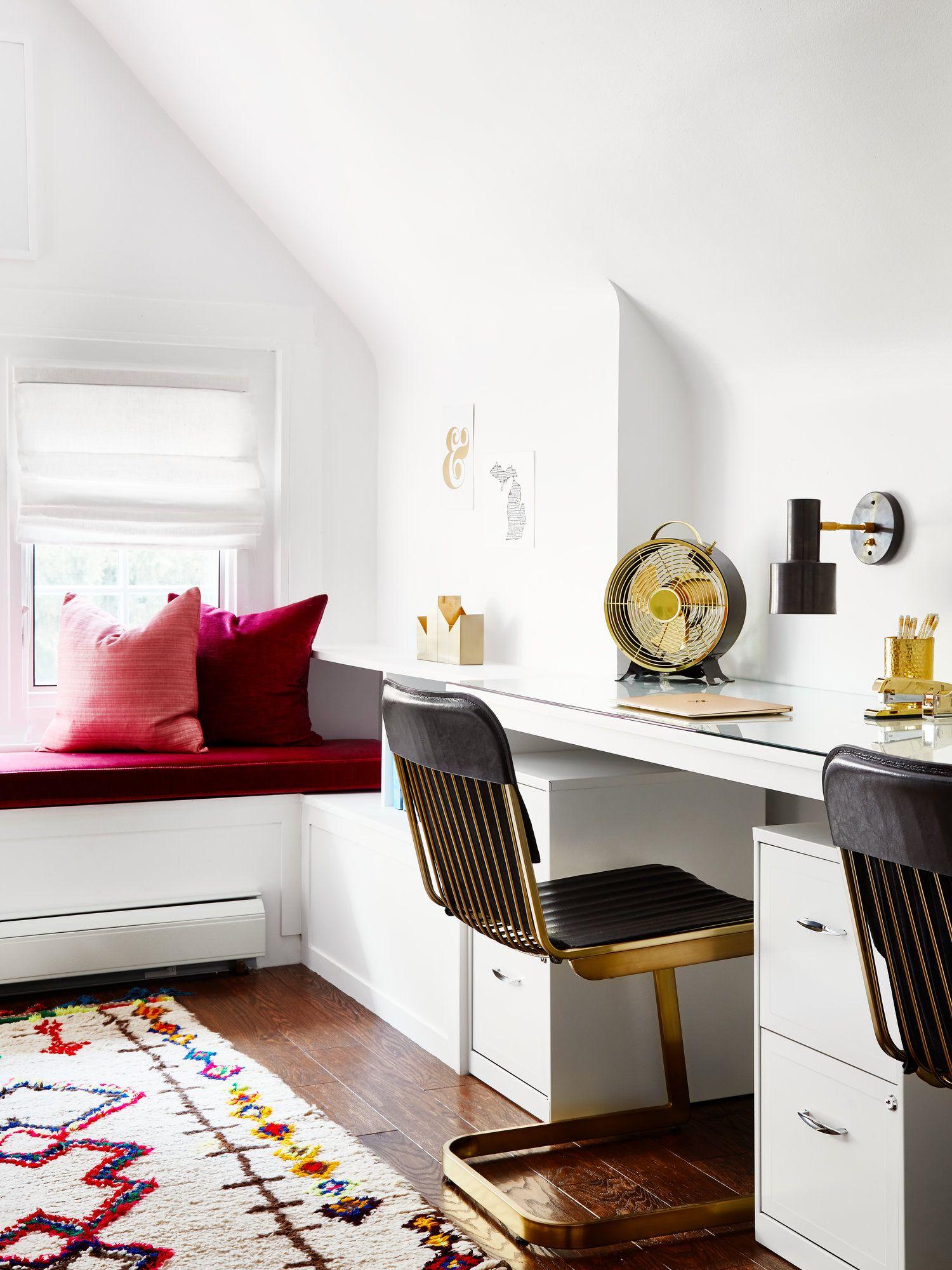 Jen Talbot Design, Boho Office Makeover