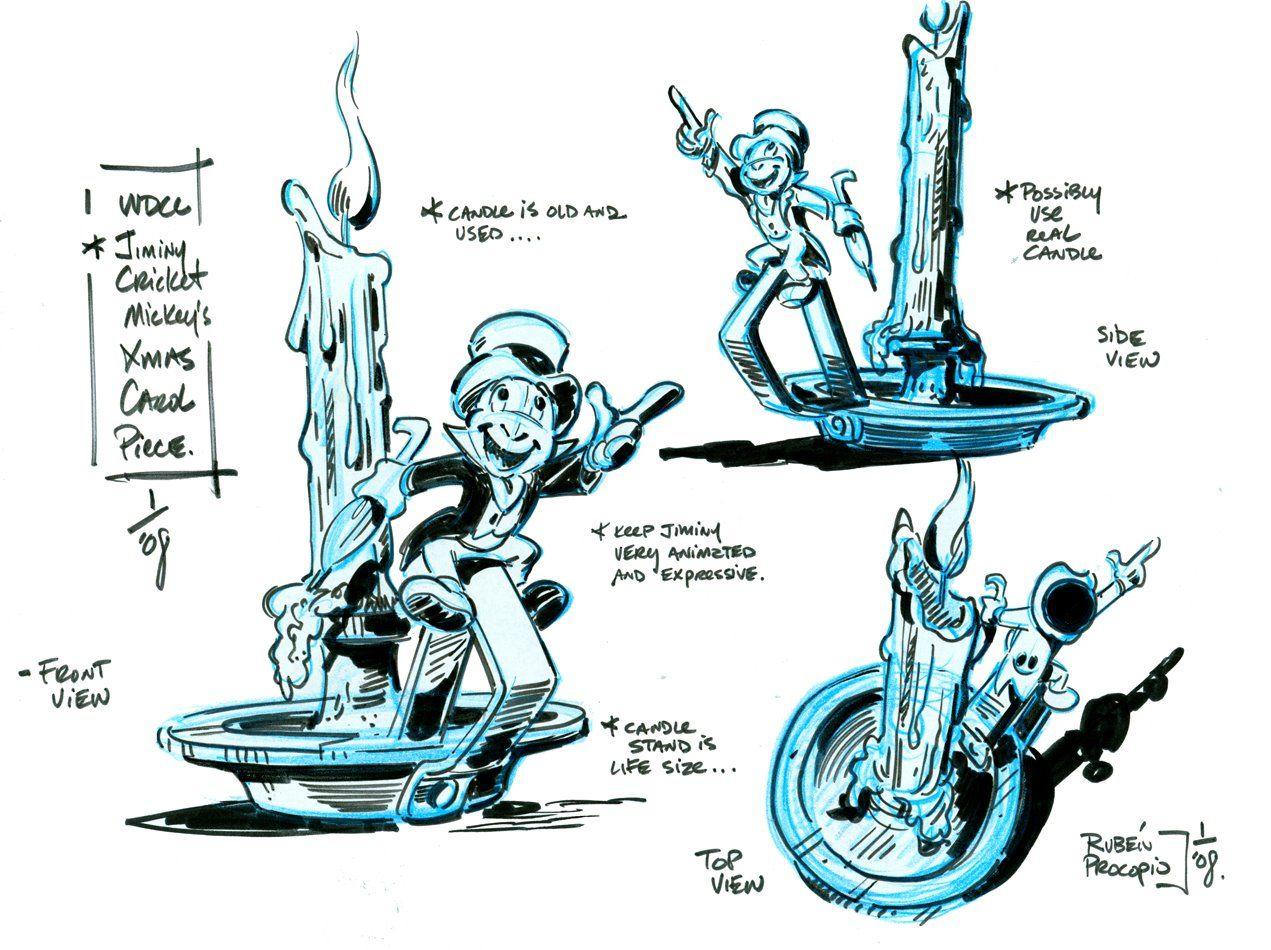 Jiminy Cricket - concept