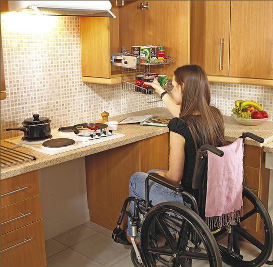 Disabled Kitchens Bathrooms Mobility Aids Leading Disability Image ...