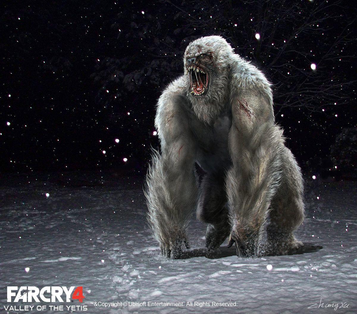 Far Cry 4 Dlc Valley Of The Yetis Concept Art Xu Zhang Fantasy