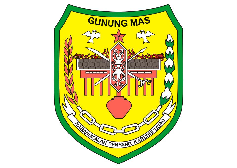 Logo Kabupaten Gunung Mas Vector Kota