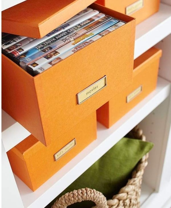Hidden Dvd Storage Use Boxes On Coffee Table Shelf Instead Of