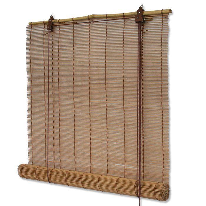 Details Zu Bambusrollos Bambus Rollo In Natur Oder Braun Mit