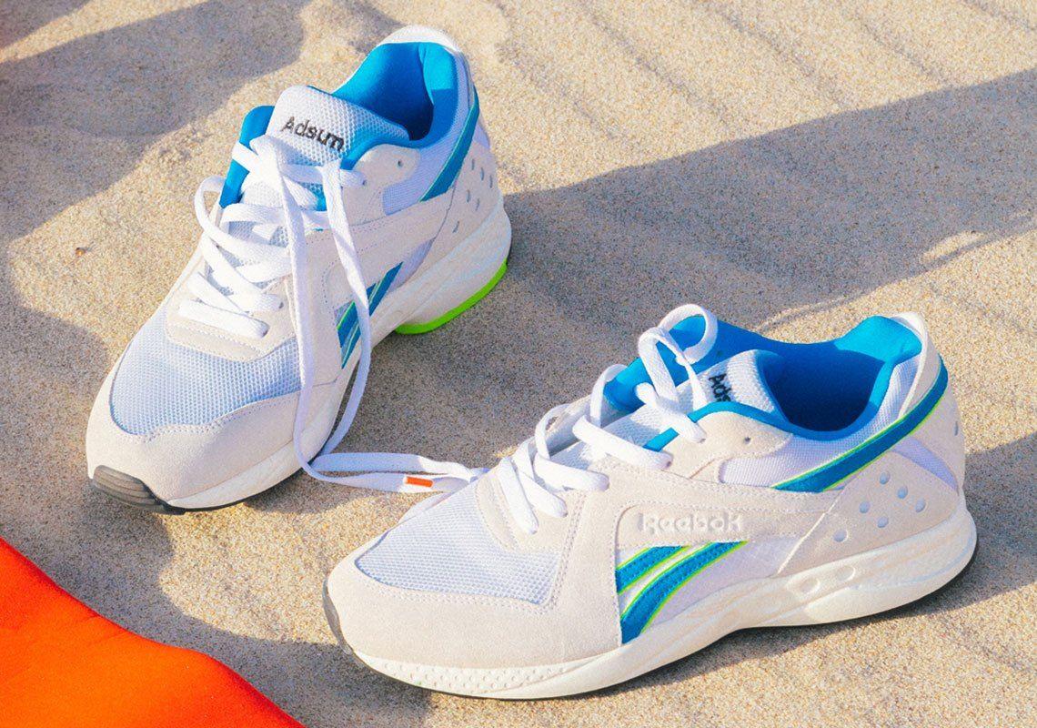 Adsum Reebok Pyro White Blue Release Info  thatdope  sneakers  luxury  dope    e241d6184