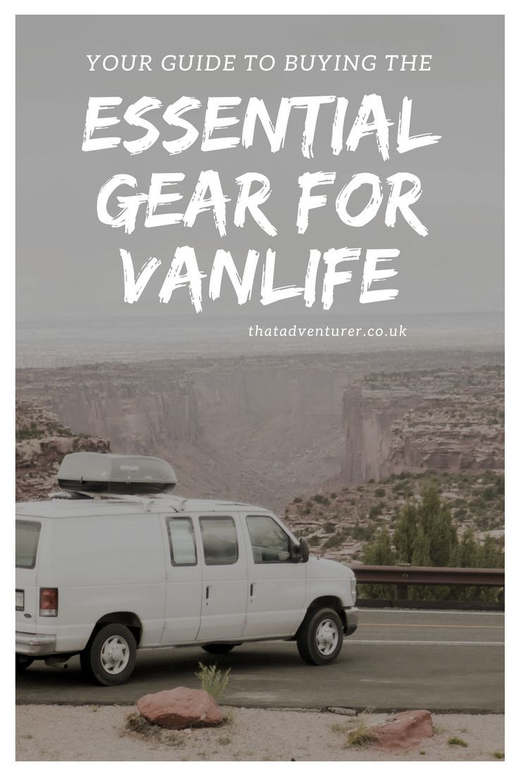 2c077b84a6 Everything you need to live the van life. If you re considering living in a  van