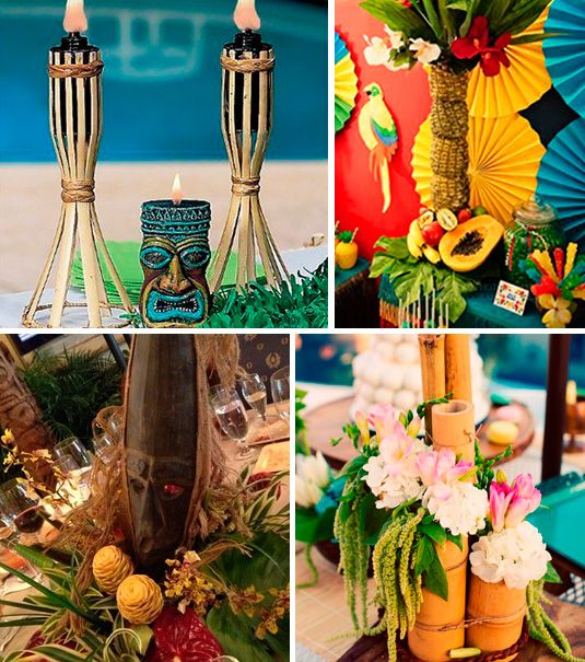 Matrimonio Tema Hawaiano : Anos hawaianos fiesta lua pinterest