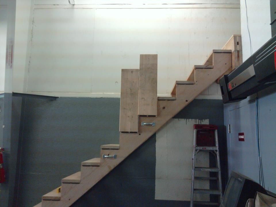 Perfect Collapsible Stairs.