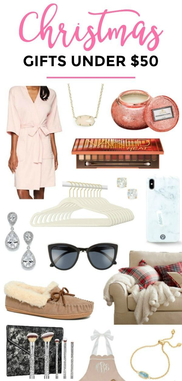 The Best Christmas Gift Ideas For Women Under 50 That She