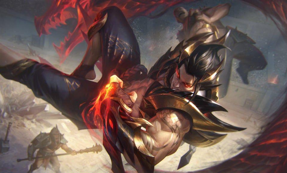 Obsidian Dragon Sett Splashart Settmains League Of Legends Lol League Of Legends League Of Legends Game