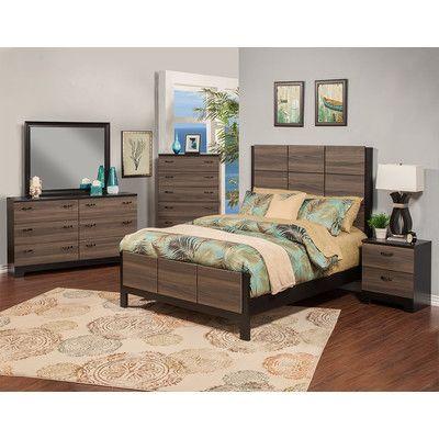 Sandberg Furniture Nova Panel Customizable Bedroom Set Http