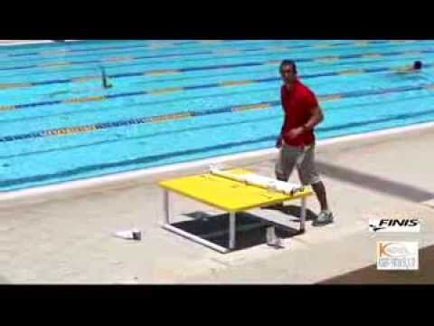 How to build a swim teaching platform youtube outside - Above ground pool platform ...