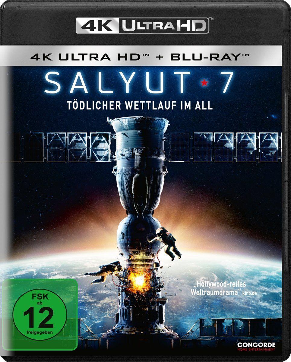 Salyut 7 Todlicher Wettlauf Im All Ultra Hd Blu Ray 4k Blu Ray Disc Katastrophen Raumstation Dvd