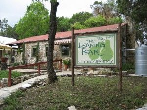 The Leaning Pear Restaurant In Wimberley Home State