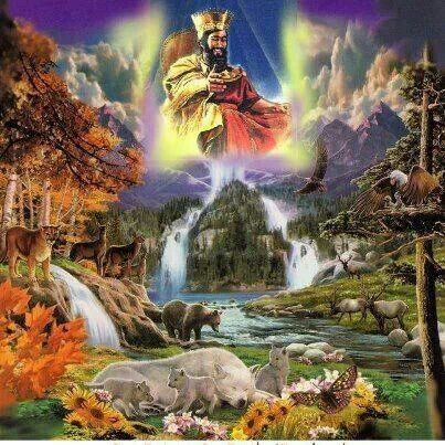 Jehovah's kingdom with Christ Jesus, appointed as King and High Priest, will rule for 1000 years over the earth and mankind, with the chosen 144,000 co-rulers. Hebrews 6:20 (Melchizedek served as both king and high priest in Israel.) - Revelation 14:3. - Revelation 20:6. - Hebrews 3:1.