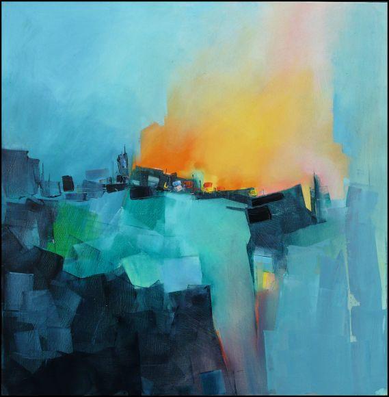 Gerard Mursic Artiste Peintre Breton Saint Malo Artfully Abstract
