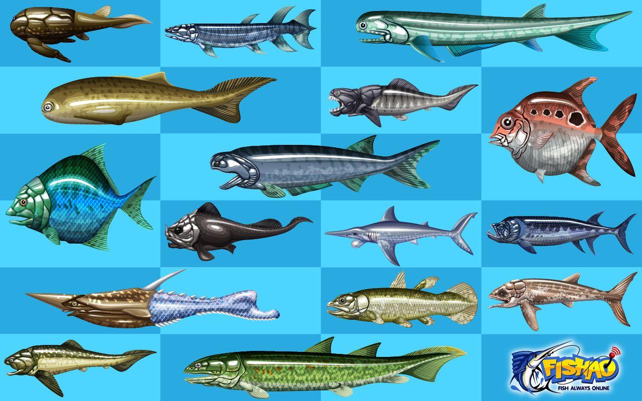 рыба из игры что на картинке этом