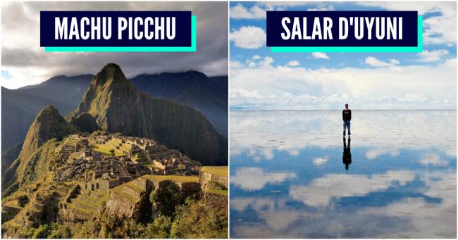 Top 10 des trucs à voir en Amérique du Sud avant de mourir (allez chope tes billets)