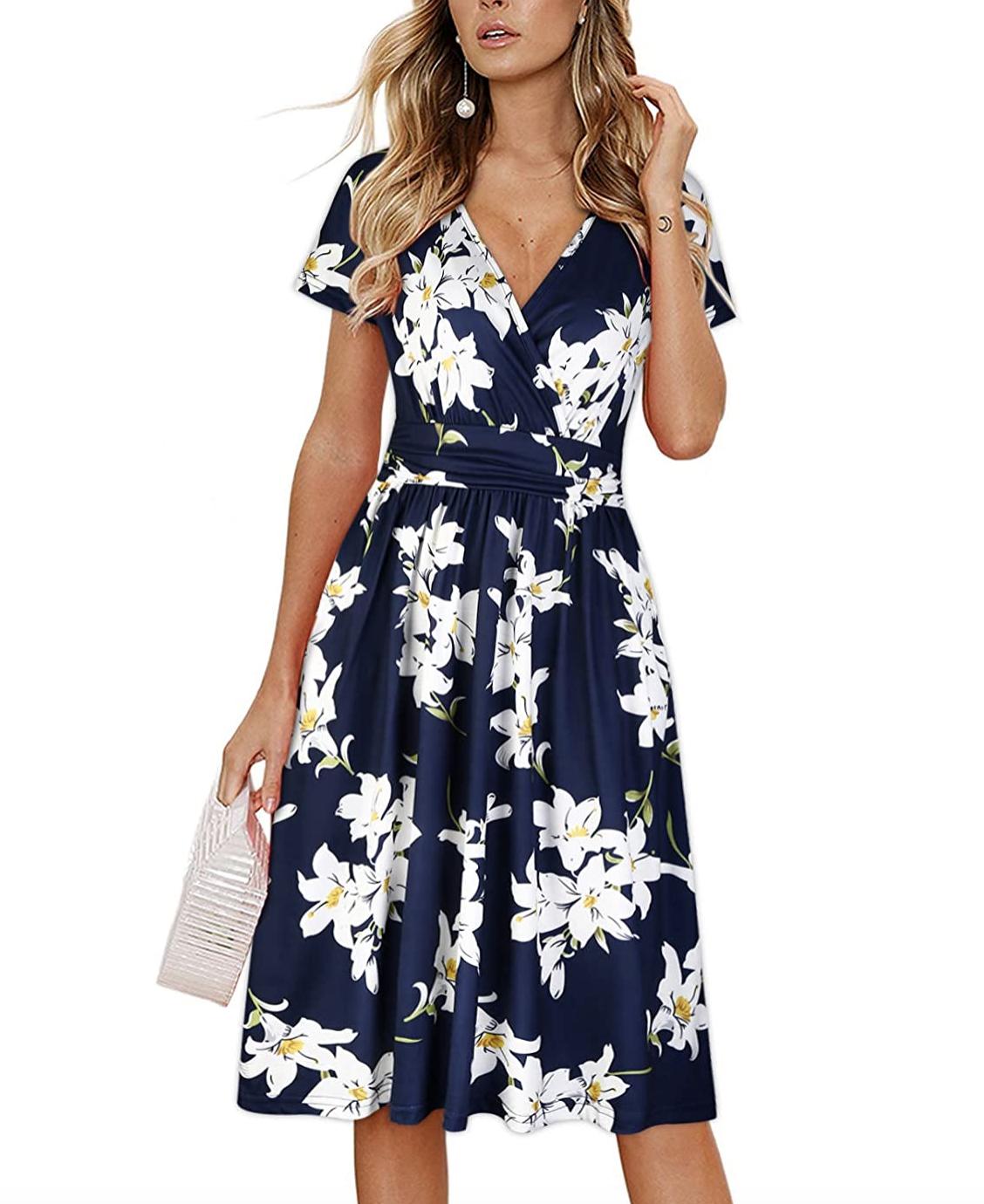 Summer Days Floral Midi Dress In 2021 Summer Dresses Dresses Summer Dresses For Women [ 1380 x 1128 Pixel ]