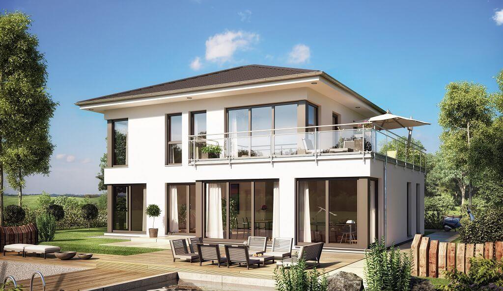 Modernes Haus . Wählen Sie Aus Der Großen Übersicht Ihr Traumhaus! Finden  Sie Alle Informationen