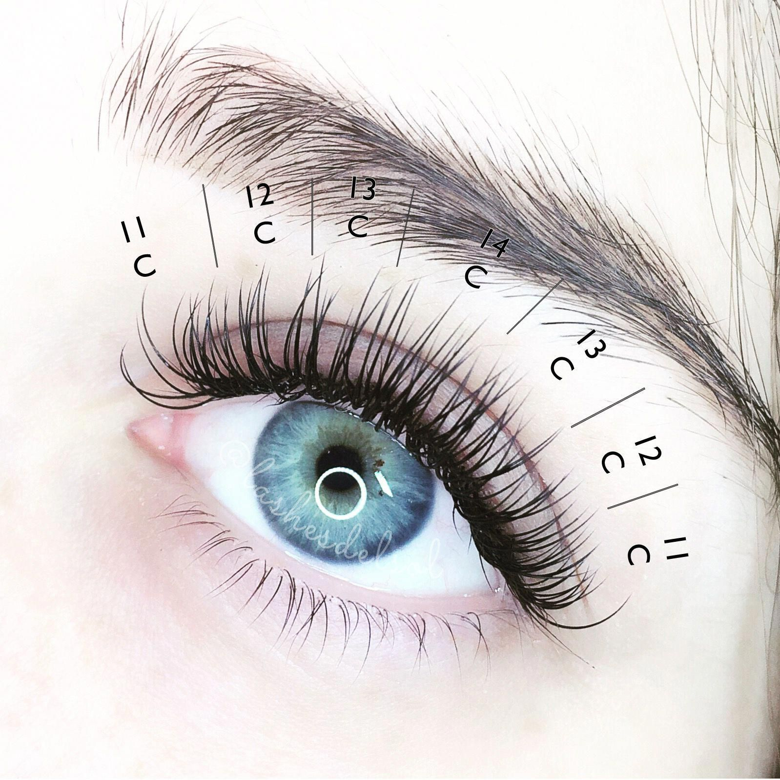 Image result for eyelash extension mapping #Lashes # ...