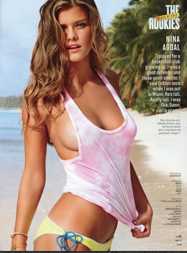 sports illustrated nude models ESQ: Is this a record, do you .