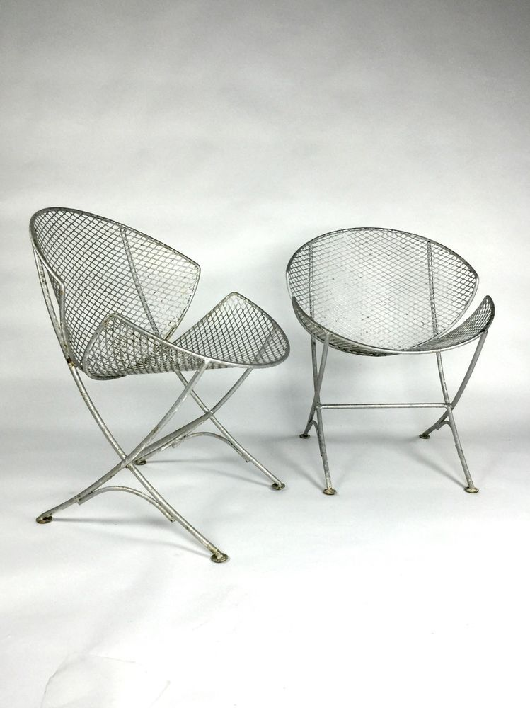 Pair Of Salterini Orange Slice Chairs