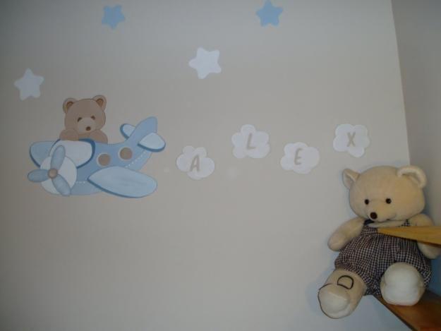 Dibujos para habitaciones de bebe buscar con google - Habitaciones de bebe nino ...