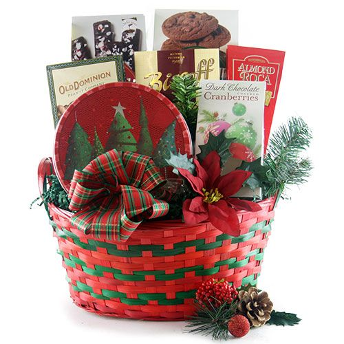 Seasons Best Christmas Gift Basket At Design It Yourself Gift Baskets