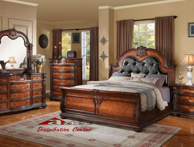Acme Nathaneal Bedroom Set Bellagio Furniture Store Houston Texas ...