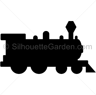 Train silhouette clip art. Download free versions of the ...