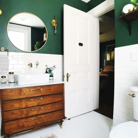Bathroom Inspiration // Dreaming Home Blog #whitebathroompaint