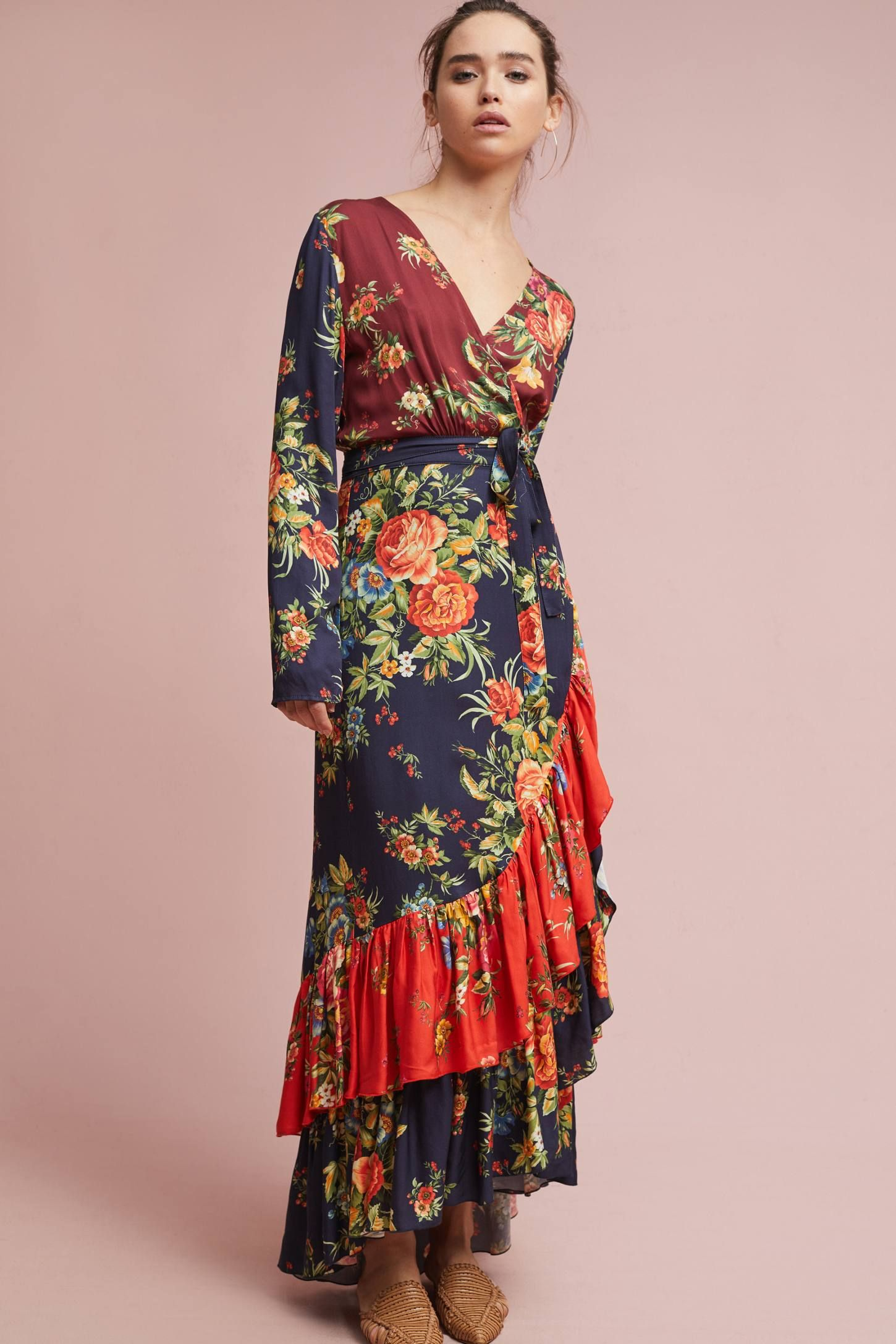 db61bbbf49ac3 Shop the Farm Rio Audrey Wrap Dress and more Anthropologie at Anthropologie  today. Read customer reviews, discover product details and more.