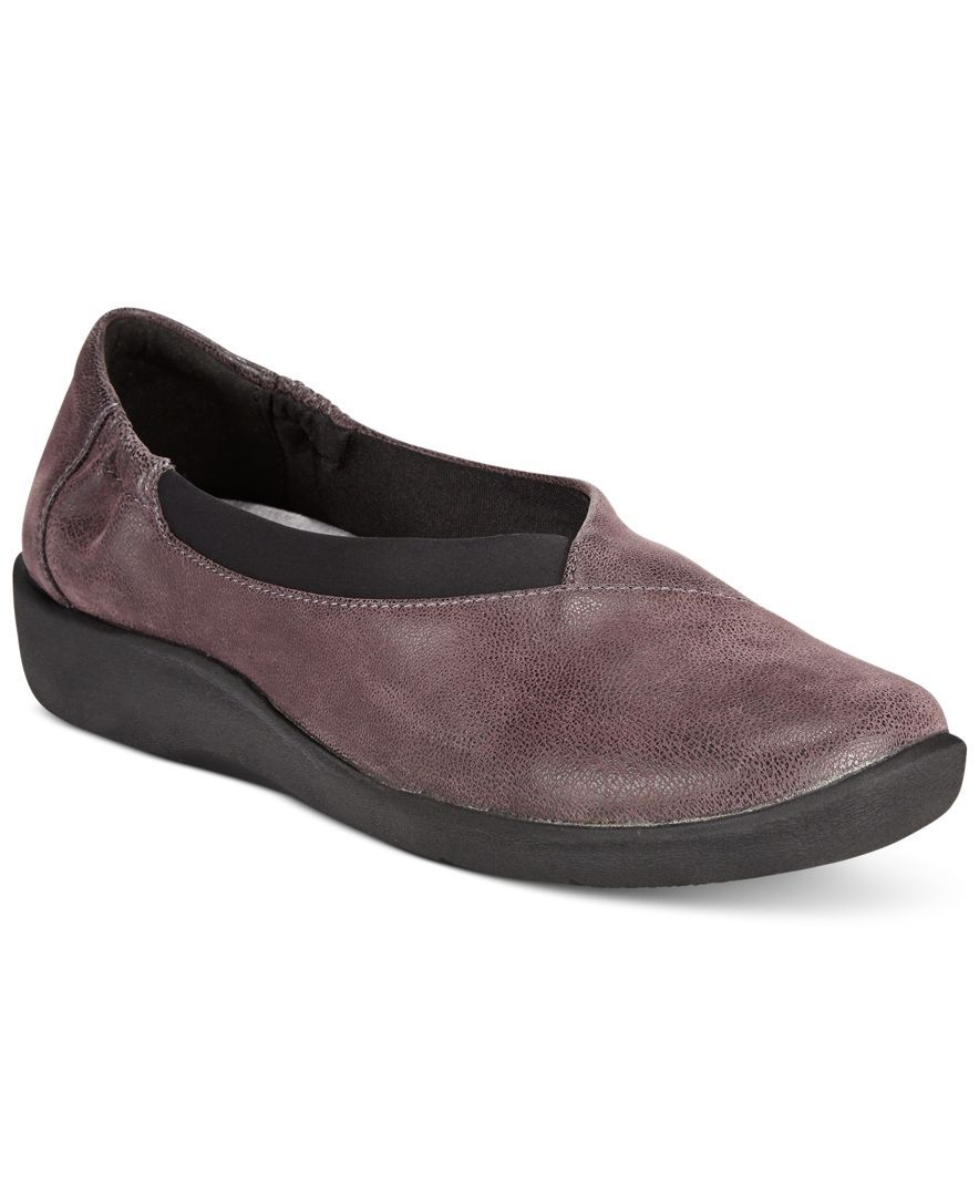 Clarks Collection Women's Cloudsteppers Sillian Jetay Flats