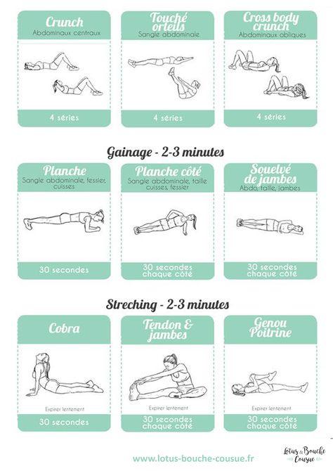 Épinglé sur Exercices musculation femme