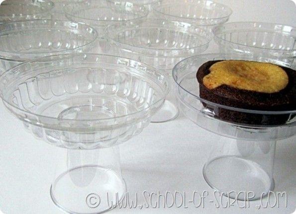 Eco Craft Tour: alzatine monoporzione per muffin e ...