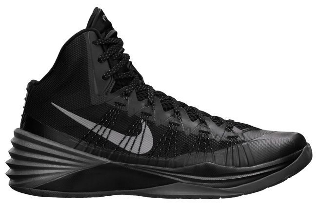 official photos 99118 769ba ... nike hyperdunk 2014 black metallic silver 03 570x407 Nike Hyperdunk  2014 Black Metallic Silver Sneakers Pinterest nike hyperdunk 2013 ...