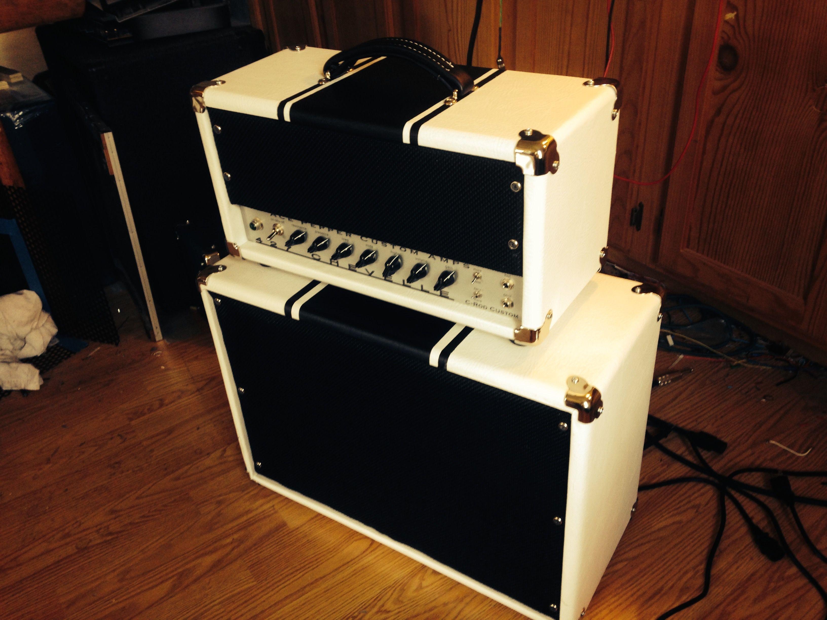 Ace Pepper Custom Amps 427 Chevelle  20 watt head and 2x10