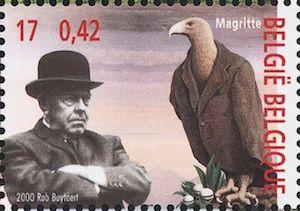Rene-Magritte-Briefmarke2000