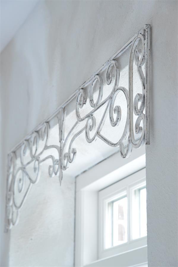Jeanne d´Arc living Metallfries 150 x 25 Antikweiß Shabby Vintage - wohnzimmer deko shabby