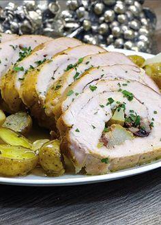 No importa la época del año, prepara cuando quieras esta deliciosa receta de lomo rellena, excelente para que todos se chupen los dedos.