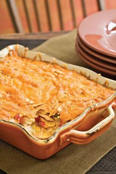 King Ranch Chicken Casserole — Southern Living images