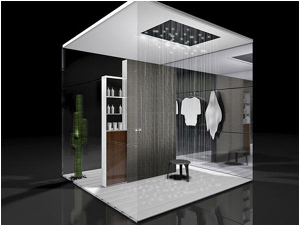 Ultra Modern Showers this ultra-modern shower roomparis-based designer christophe