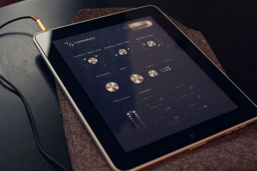 pretty concept for ipad interface #ui #interface #design
